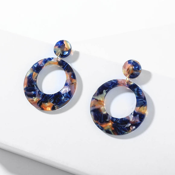 Tammy Resin Drop Earring