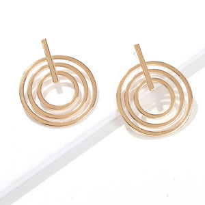 Chloe Gold Statement Earring