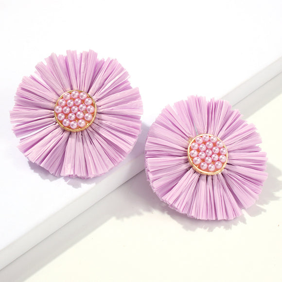 Stella Flower Statement Stud