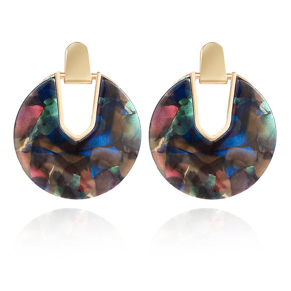 Rowan Resin Statement Earring