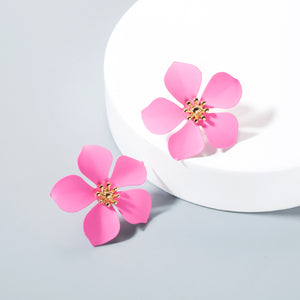 The Felicia | Floral Stud Earring