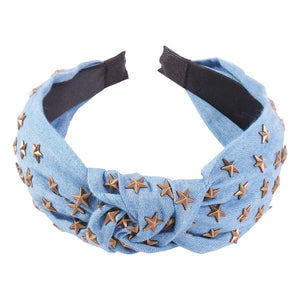 Jean Star Studded Headband