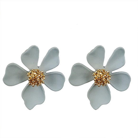 Gianna Flower Stud Earring
