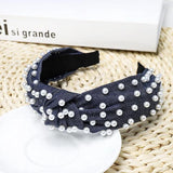 Jean & Pearl Knotted Headband