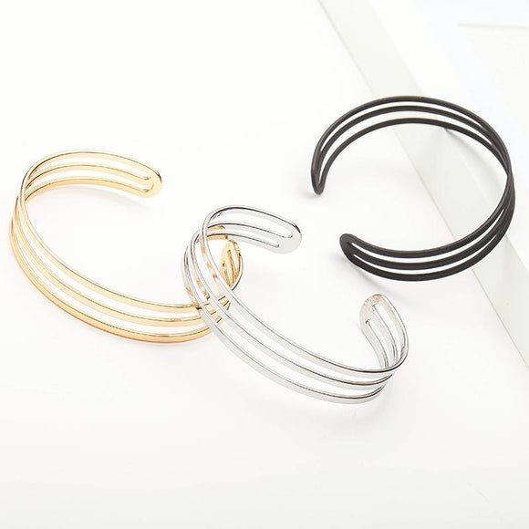 Multi-tiered Metal Bracelet