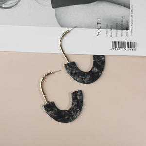 Vera Drop Jewel & Resin Earring