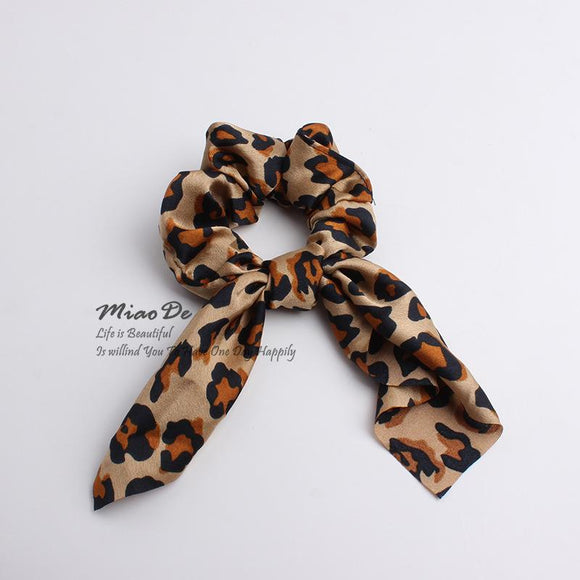 Leopard Hair Scarf - Medium