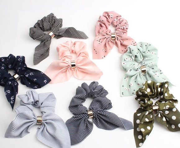 Scrunchie Bow Hair Tie