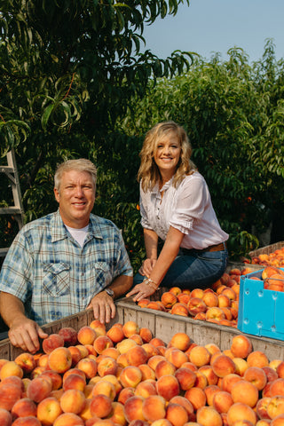 Meet Wayne and Michelle Sirles of Rendleman Orchards in Southern Illinois. Family-owned midwest orchard.
