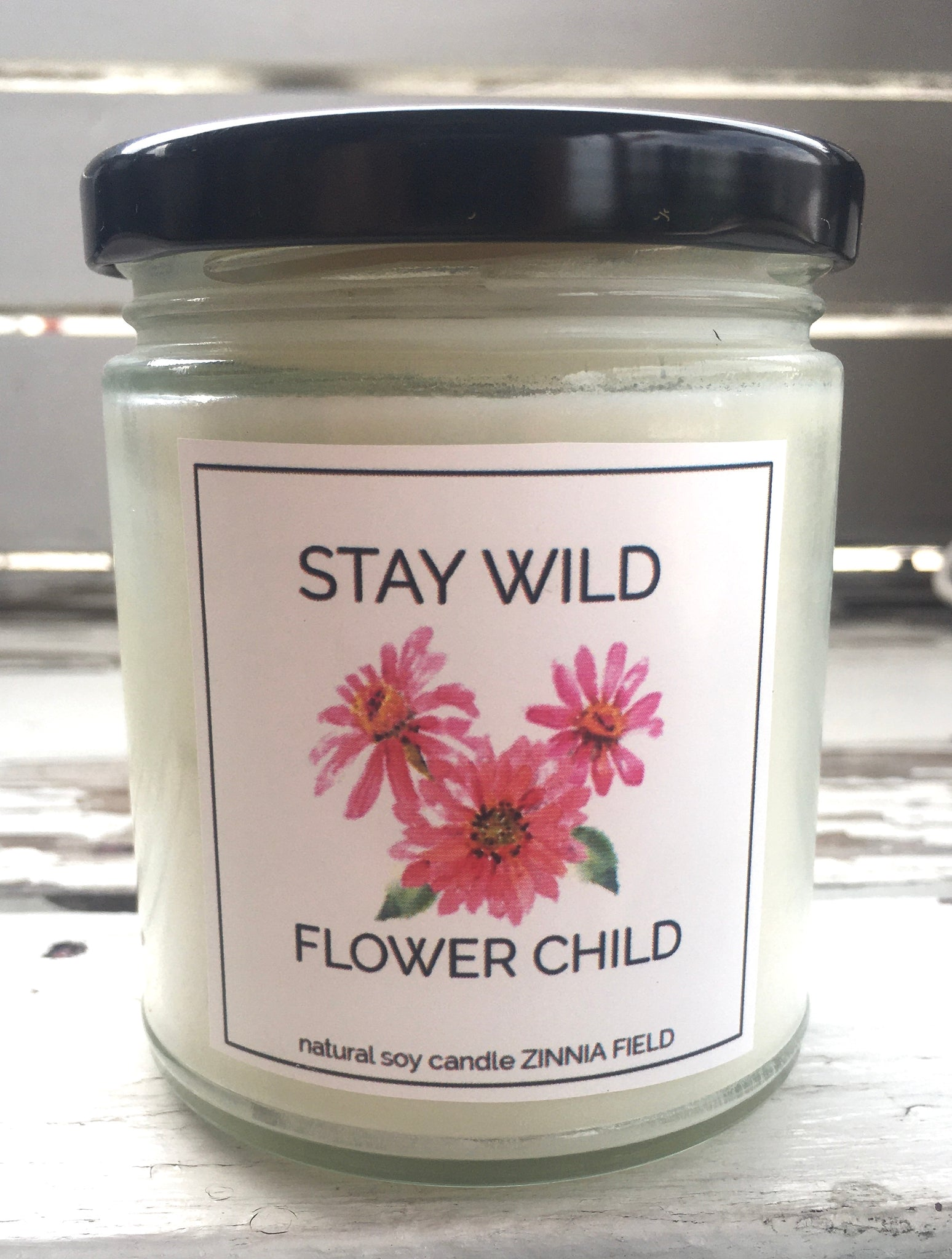 STAY WILD FLOWER CHILD CANDLE
