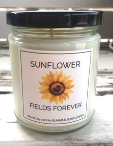 SUNFLOWER FIELDS FOREVER CANDLE
