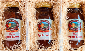 1 Apple Butter, 2 Pecan Apple Butter 3 Jar Trio