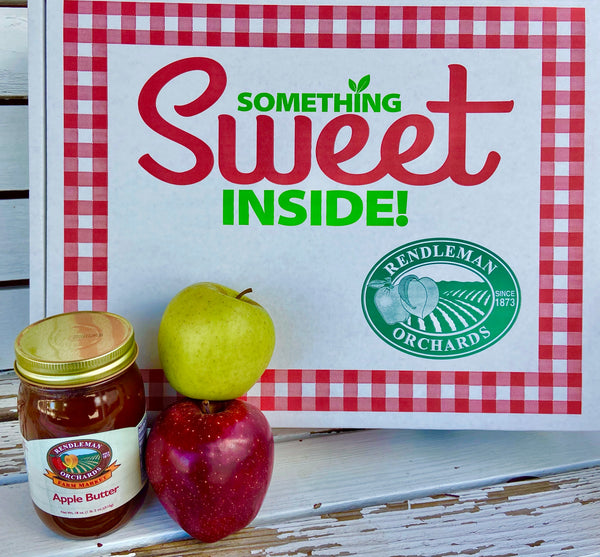 Morning Time Favorite - Red and Golden Delicious Apple Gift Box!