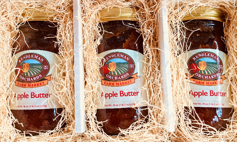 Apple Butter 3 Jar Trio