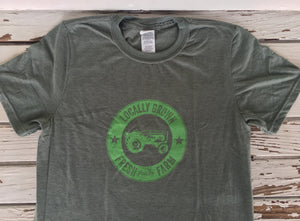 Locally Grown Tractor T-Shirt  |  $14.99