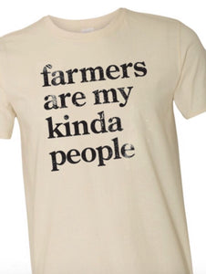 Farmers Are My Kinda People T-shirt | $20.00 (includes Shipping!!)