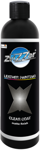Zvizzer Leather Painting – Clear Coat, Matt