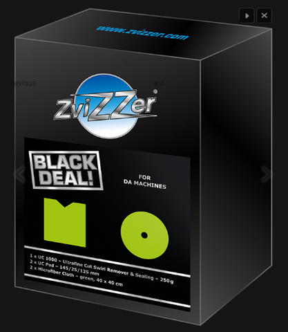 "Zvizzer Black Deal ""Ultrafine Cut""  for DA Machines"