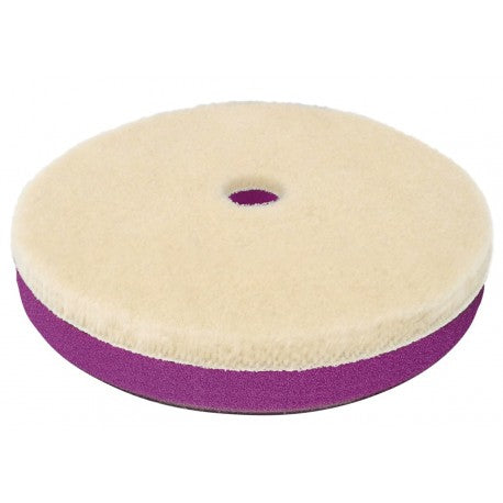 Zvizzer Doodle Wool Pad Woolpad for eccentric polishing machines with a large stroke white