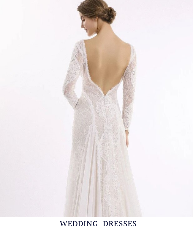 We have chic wedding dresses, beach wedding dresses, mermaid wedding dresses, plus size wedding dresses and so on. They are free to choose size and color.
