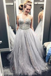 Beading Real Made Prom Dresses Long Evening Dresses Prom Dresses On Sale S220