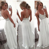Backless Beading Real Made Prom Dresses Long Evening Dresses