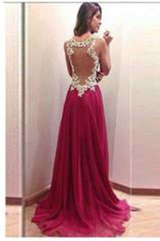 Brand New Fantastic Sweetheart Applique Mermaid Open Back Prom Party Dresses JS817