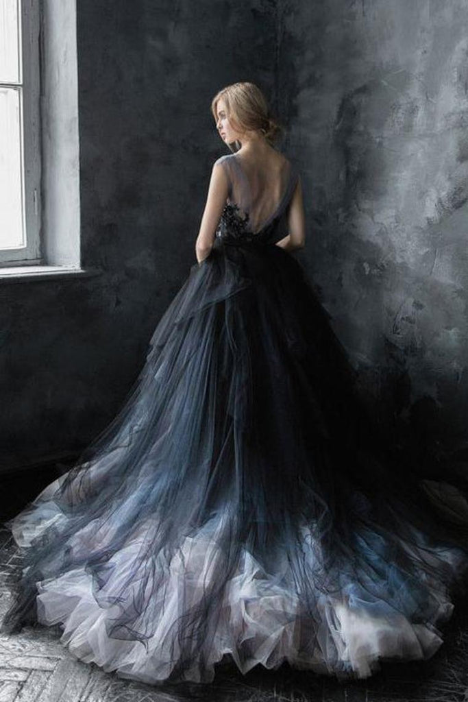 Gorgeous Long Ball Gown Lace Tulle Modest Charming Princess Prom Dresses Quinceanera Dresses