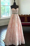 Charming Prom Dress Sweetheart Prom Dress Appliques Prom Dress A-Line Prom Dress P784