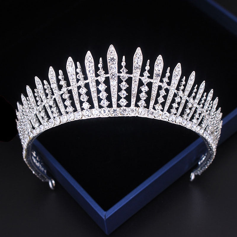 Hot Sale Hair Jewelry Crystal Princess Headpieces