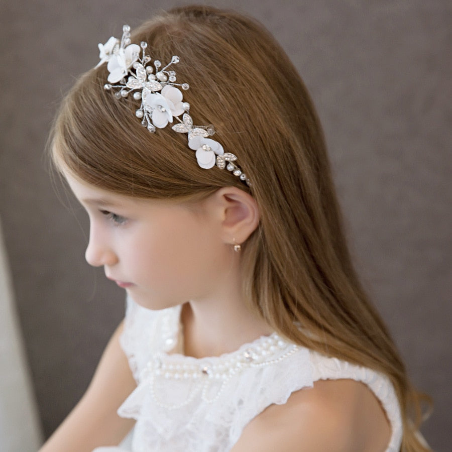 Wedding Hair Accessories Bridal Hair Vine Bride Hair Piece headpieces Wedding Hairpiece Halo Flower Girl