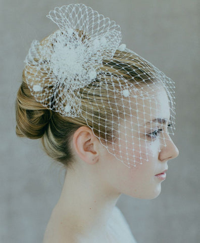 Bridal Net Birdcage Veils Charming Wedding Veil Hats