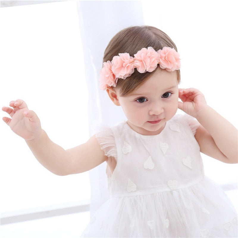 Baby Headband Flower Girls Bows Toddler Hair Bands for Baby Girls headpieces