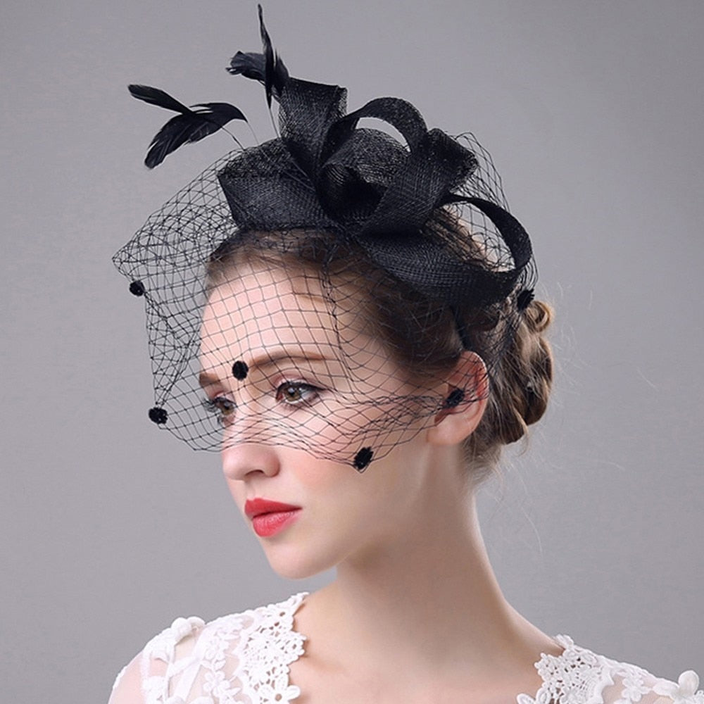 Fashion Party Hat Elegant Hair Accessories Headpiece