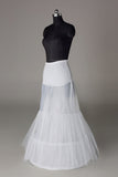 Women Nylon/Tulle Netting Floor Length 2 Tiers Petticoats JS0014
