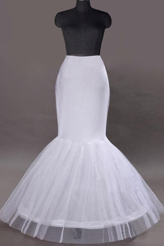 Women Nylon/Tulle Netting Floor Length 1 Tiers Petticoats JS0020