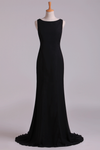 Scoop Mermaid Prom Dresses/Evening Dresses Zipper Back New