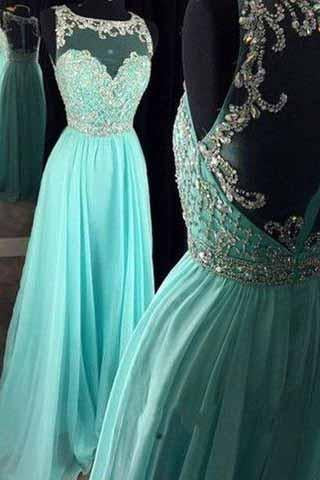Real Beautiful Long Chiffon Prom Dresses Pretty High Low Zipper Back Evening Dresses JS925