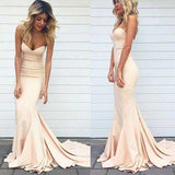 Charming Prom Dress Mermaid Evening Dress Long Prom Dresses Formal Evening Dresses JS127