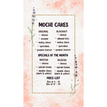 Load image into Gallery viewer, Non-Lactation Mochi Cakes