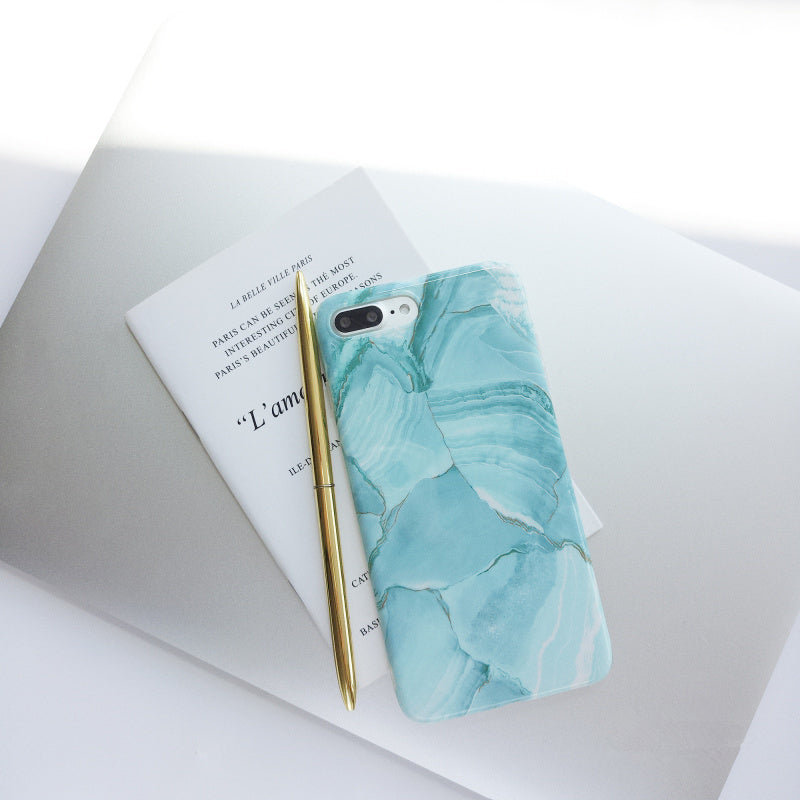 Glossy Jade Pattern IPhone Case - Modern Charme.