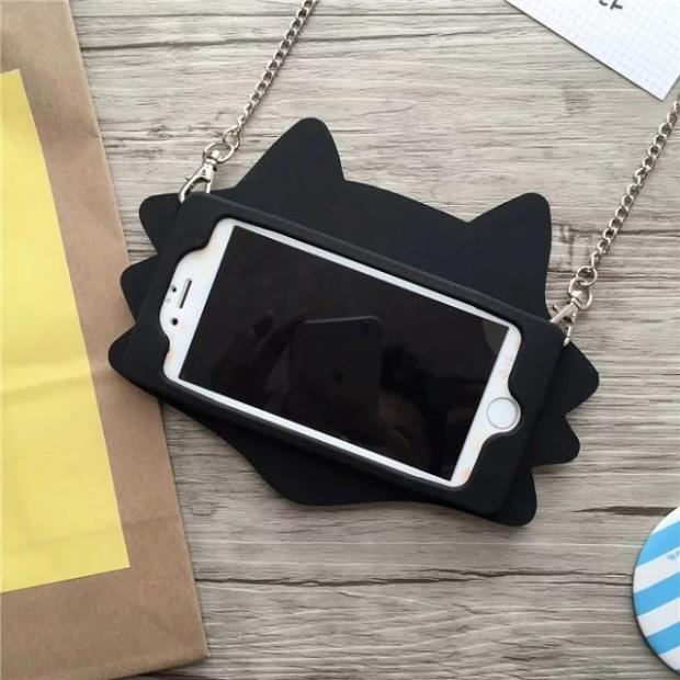 3D Cute Silicone IPhone Case - Modern Charme.