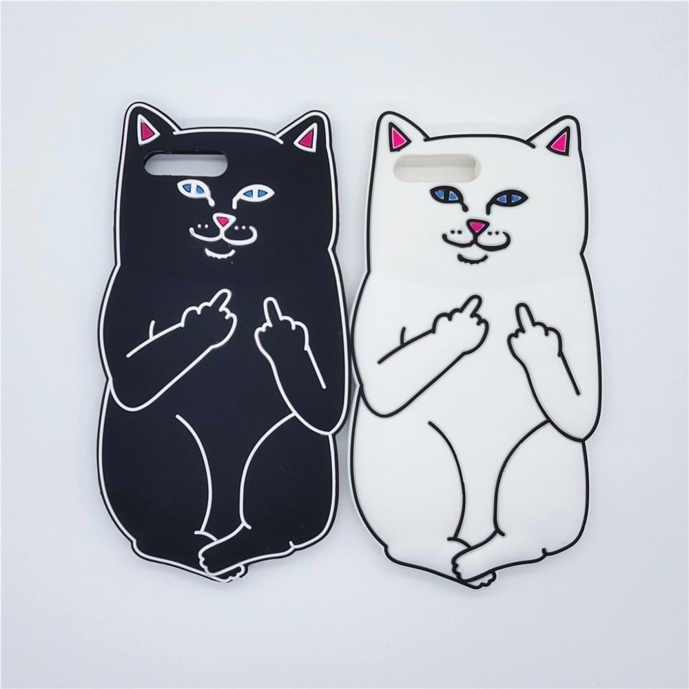 3D Kitty Flip IPhone Case - Modern Charme.