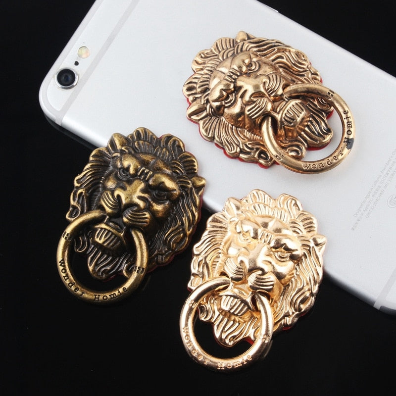 Lion Phone Ring Grip - Modern Charme.