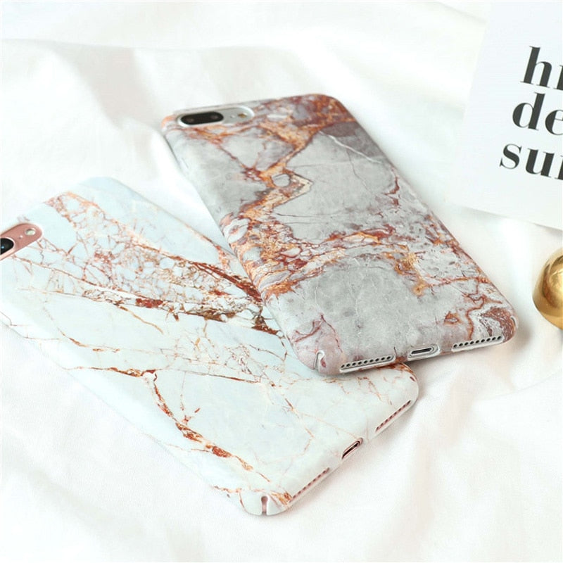 Granite Marble IPhone Case - Modern Charme.
