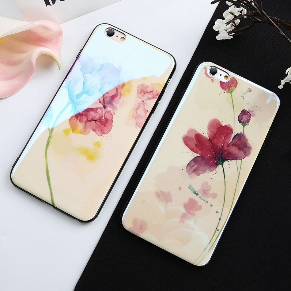 Floral Water Color IPhone case - Modern Charme.