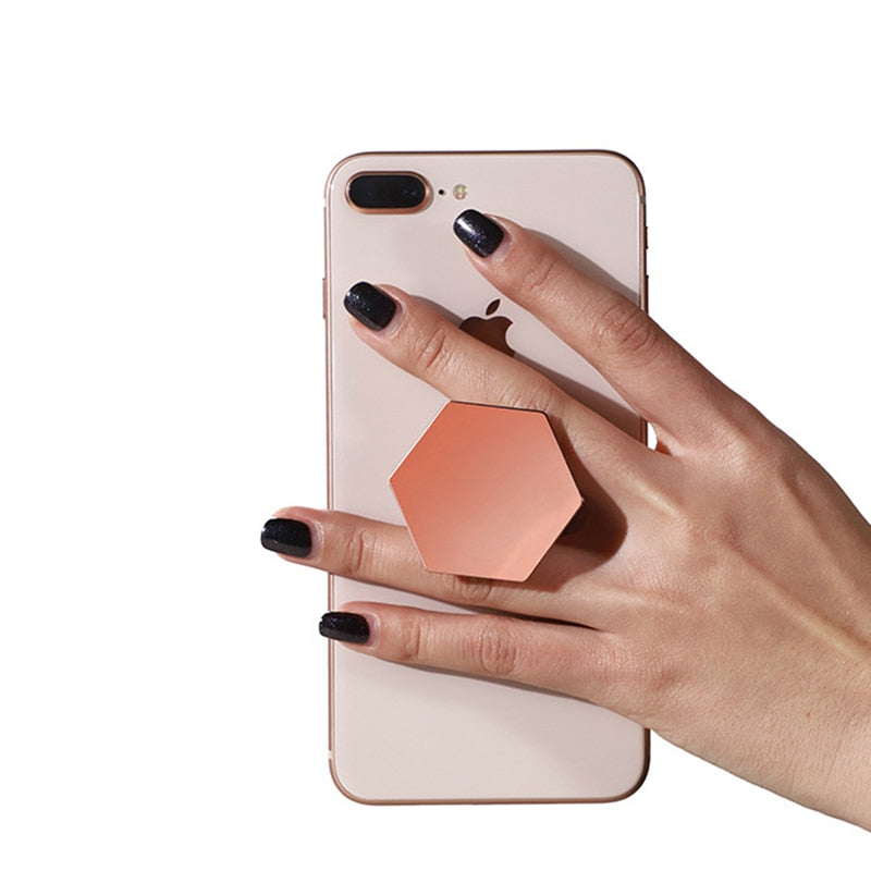 Luxury Hexagon Pop Socket - Modern Charme.