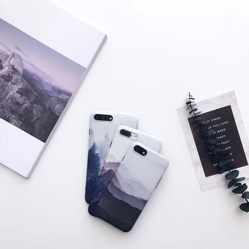 Mountain Landscape IPhone Case - Modern Charme.