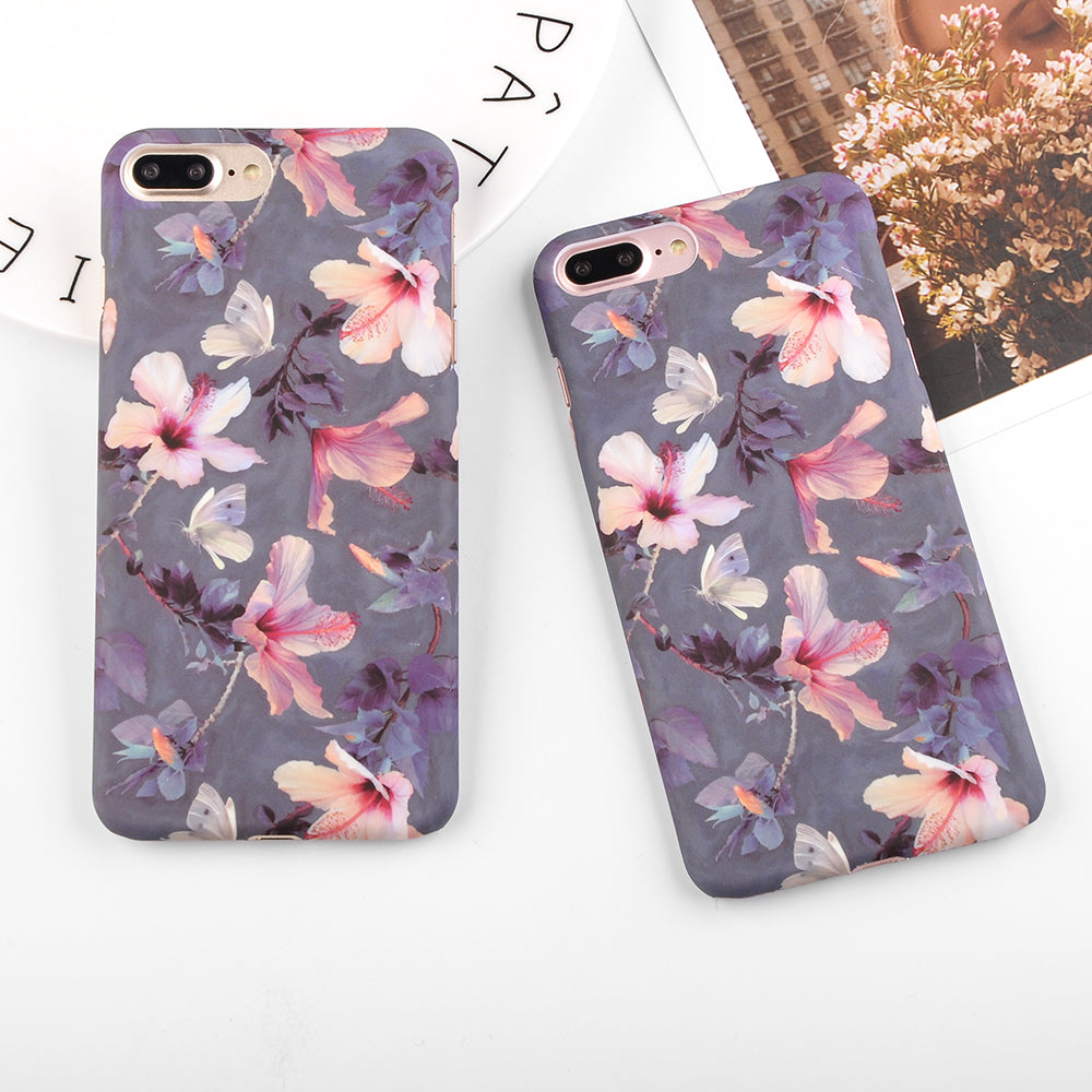 Hibiscus Flower IPhone Case - Modern Charme.