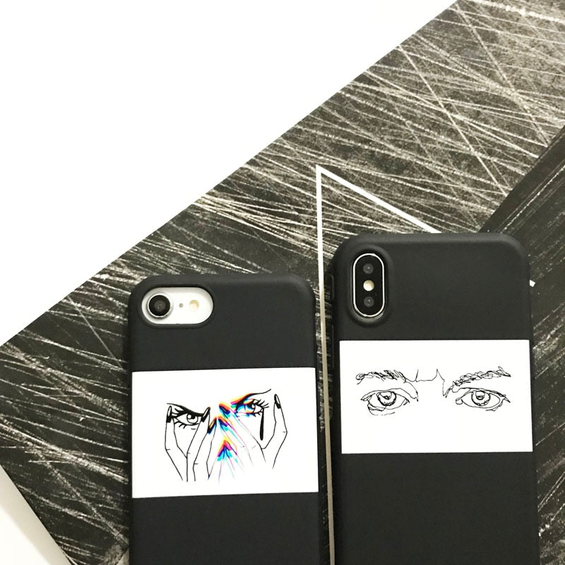 Cold Eyes IPhone Case - Modern Charme.